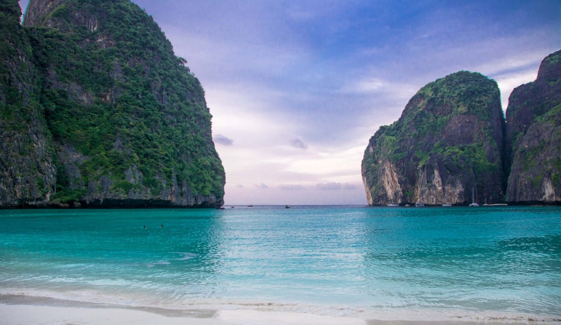 Maya bay e la magia di 'The beach'