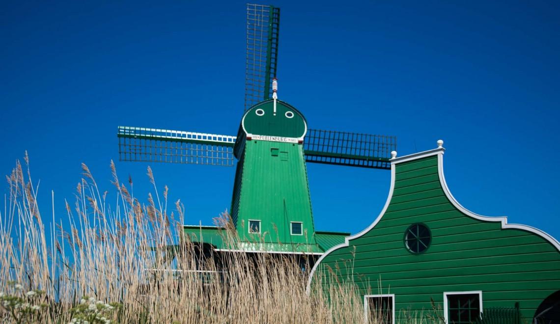 Zaanse Schans, la città dei mulini a vento in Olanda